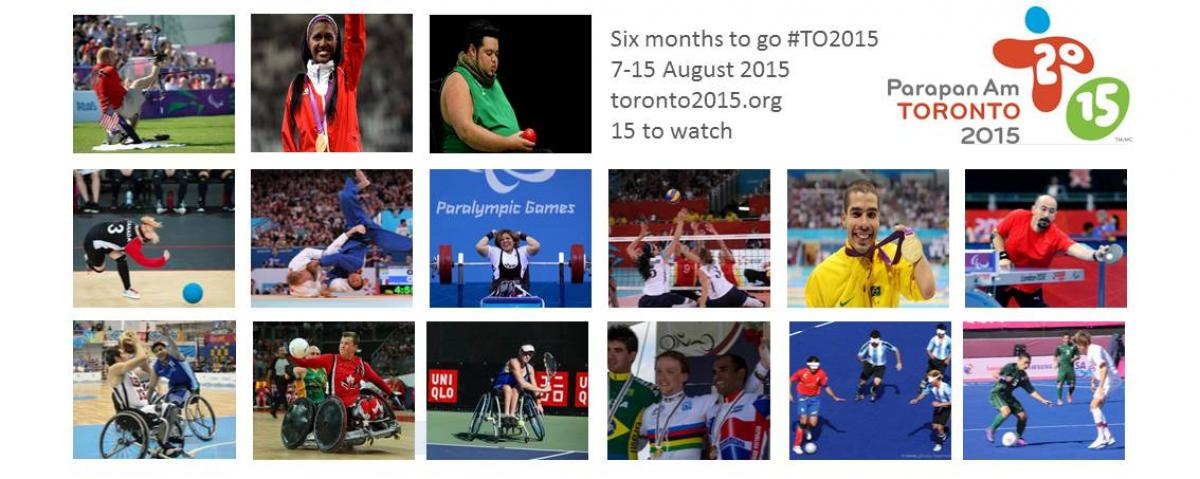 Six months to go until the 2015 Parapan American Games