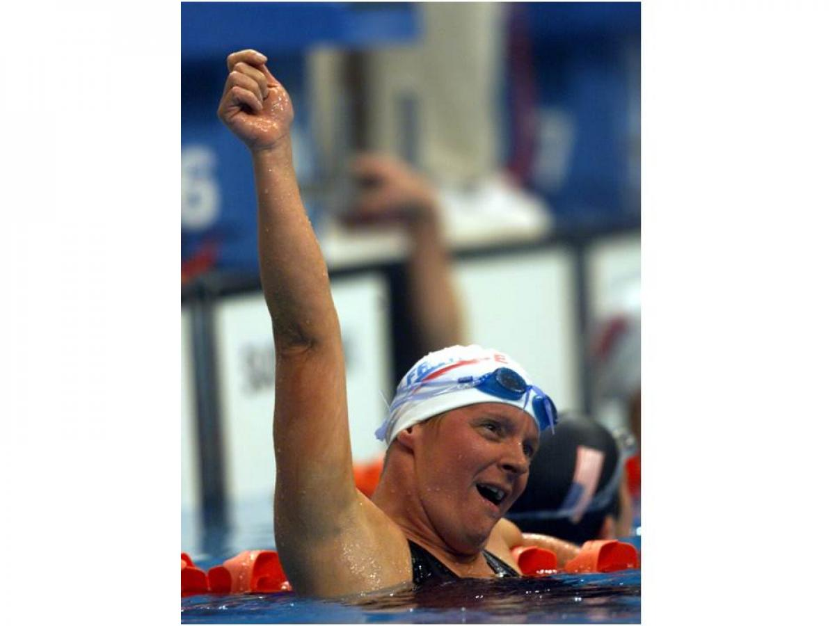 Beatrice Hess broke nine world records at the Sydney 2000 Paralympic Games