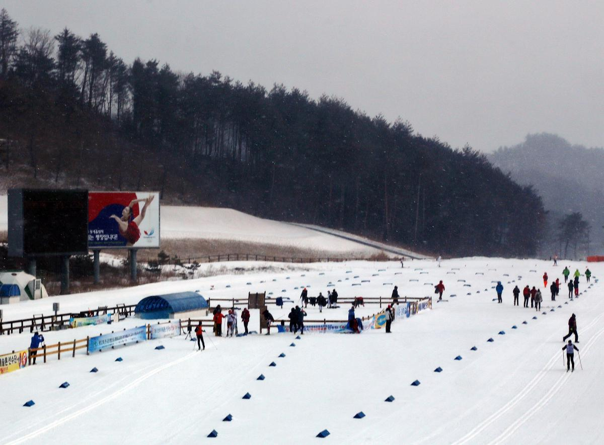 Pyeongchang Winter Series Foundation Gears Up For Successful Test Events International Paralympic Committee