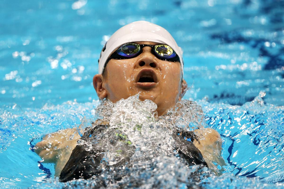 China's Dong Lu won 100m backstroke S6 gold and both London 2012 and Montreal 2013.