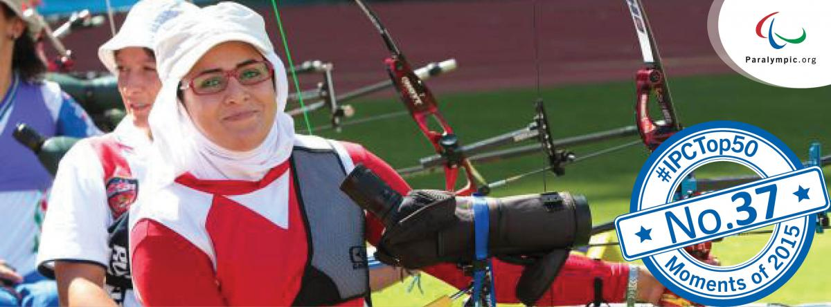 IPC Top 50 moments 2015 - No. 37 Nemati secures both Olympic, Paralympic spots for Iran