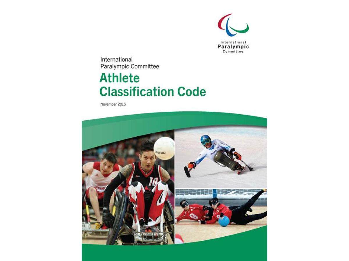 IPC publishes final 2015 Athlete Classification Code