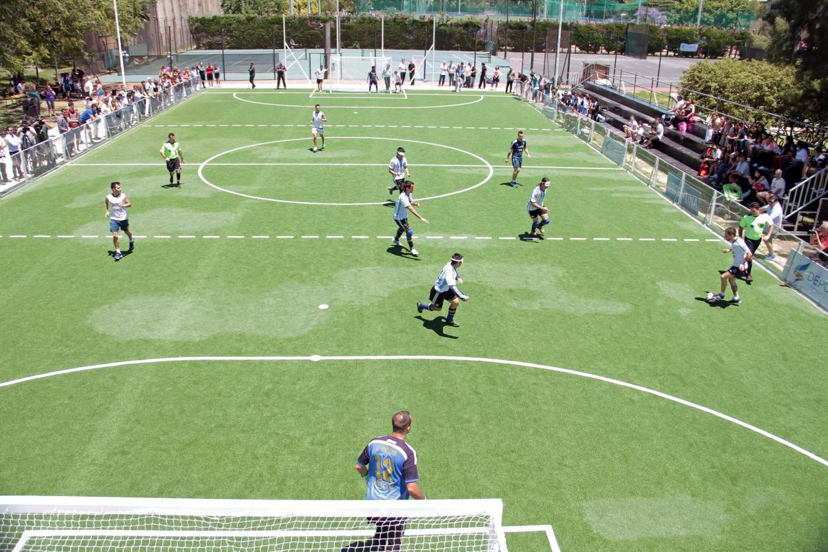 Blind Football Field Inaugurated In Argentina International Paralympic Committee