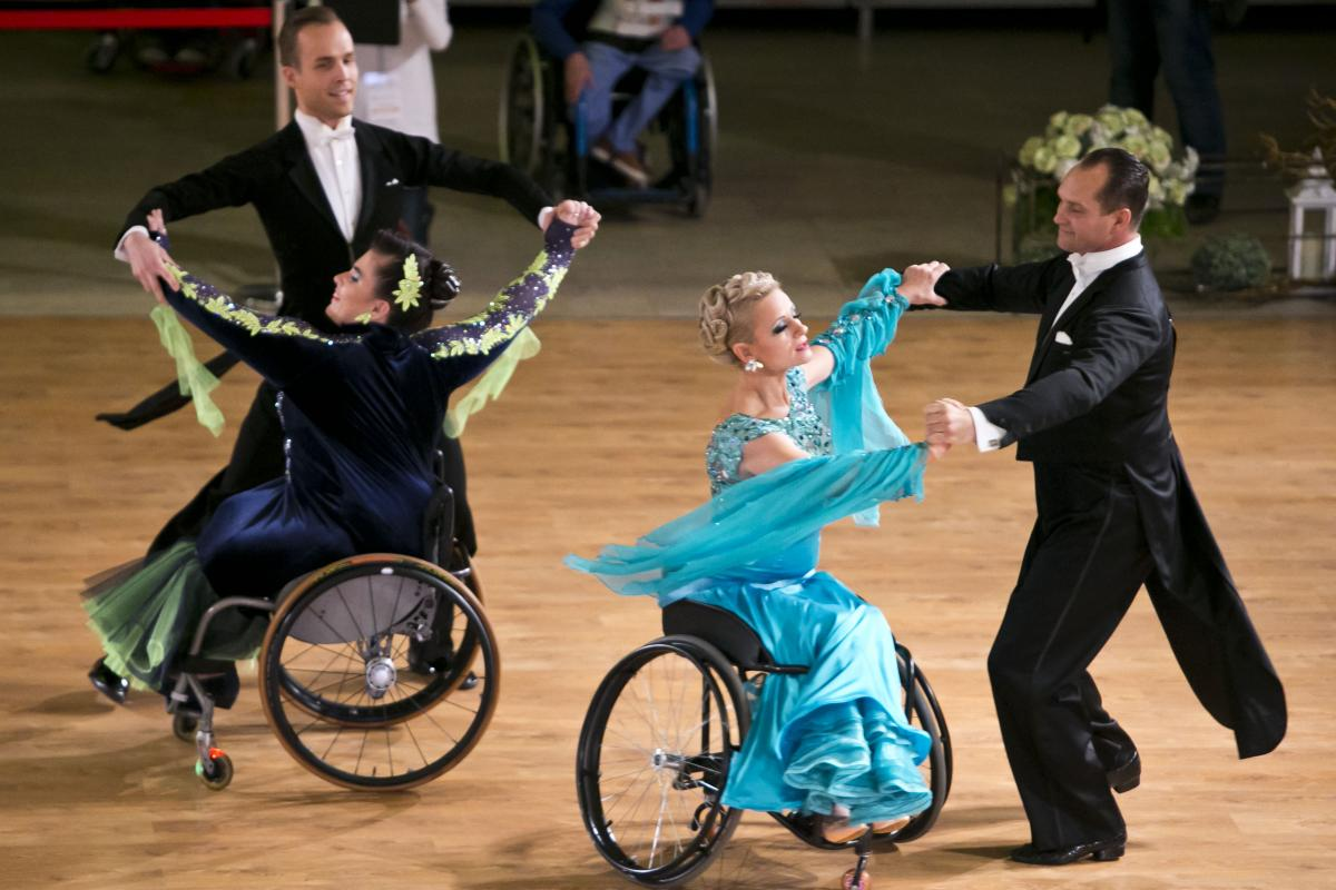 Malle, Belgium, will host 2017 Para dance sport World Championships