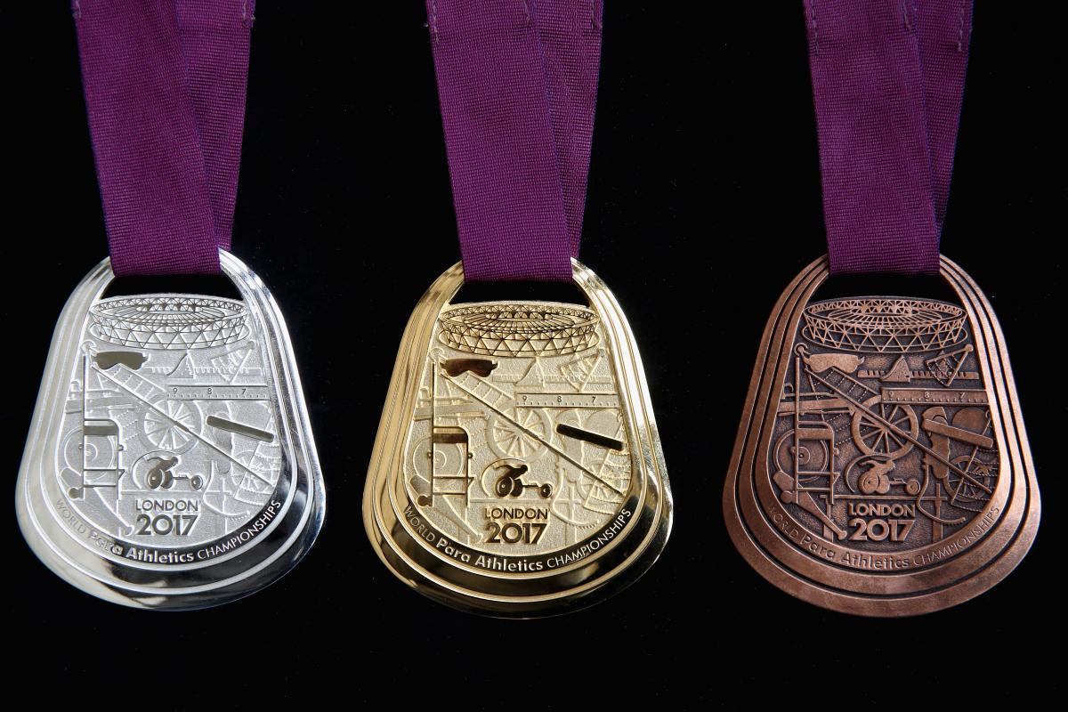 Unique medal design revealed for London 2017 | International