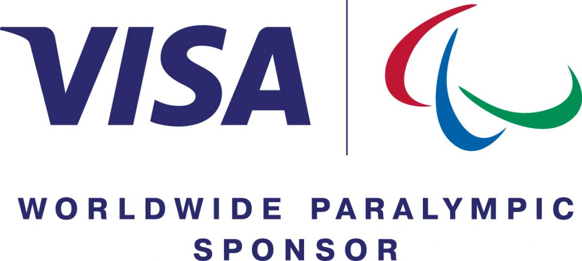 The official logos of VISA and the IPC