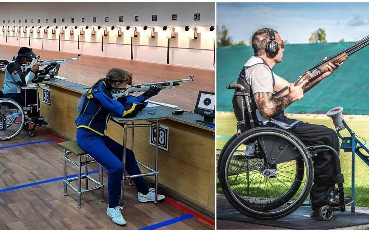 World Shooting Para Sport - collage