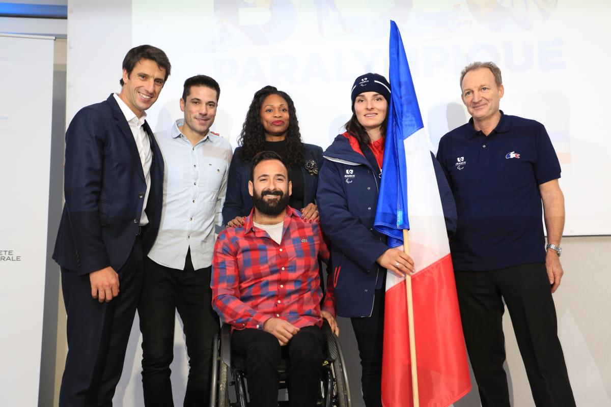 Marie Bochet was named as France's flagbearer for PyeongChang 2018.