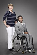 Channel 4 Ade Adepitan and Clare Balding