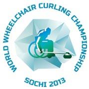 World Wheelchair Curling Championship Sochi 2013 logo