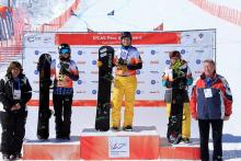 Bibian Mentel wins test event