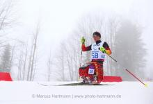 Martin Fleig of Germany competes at the Sochi 2014 Paralympic Winter Games.