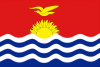 The flag of Kiribati
