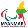 Logo National Paralympic Committee of Myanmar