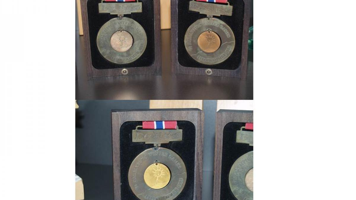 Lillehammer 1994 Paralympic Winter medals