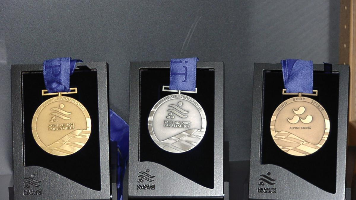 Salt Lake City 2002 Paralympic Winter medals