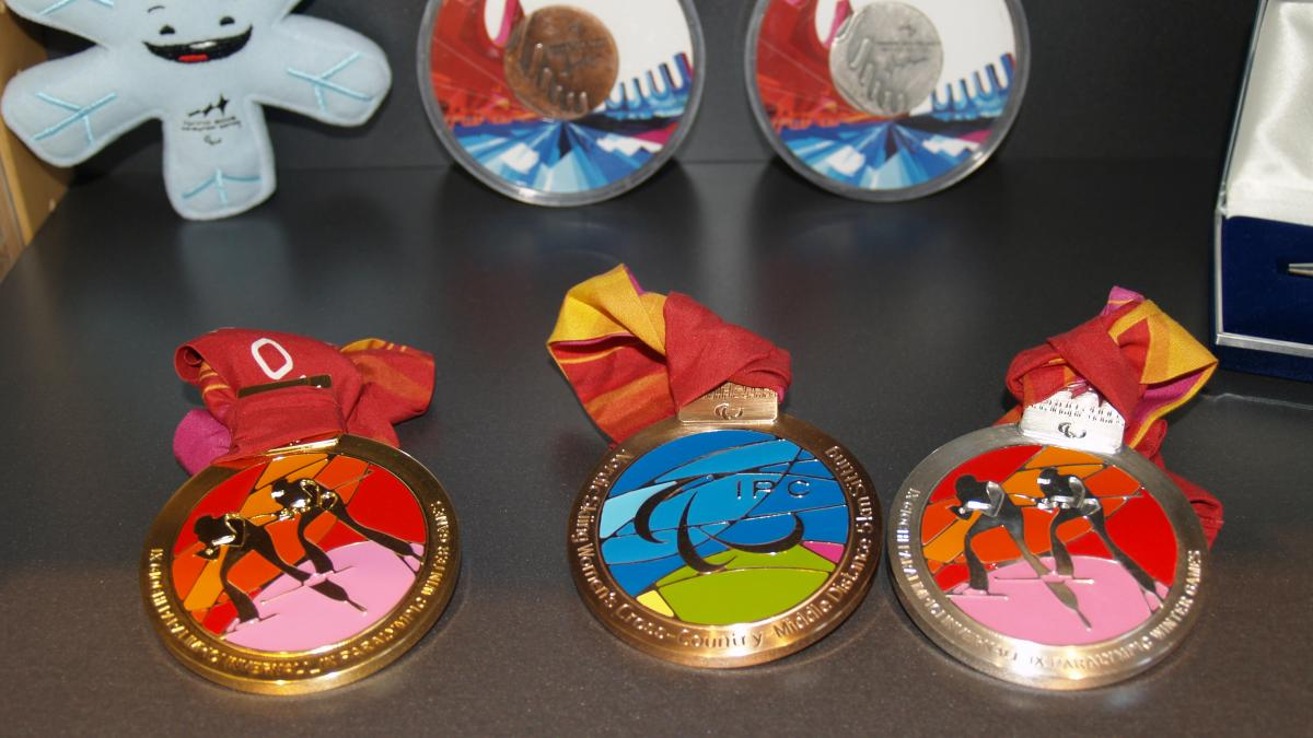 Torino 2006 Paralympic Winter medals