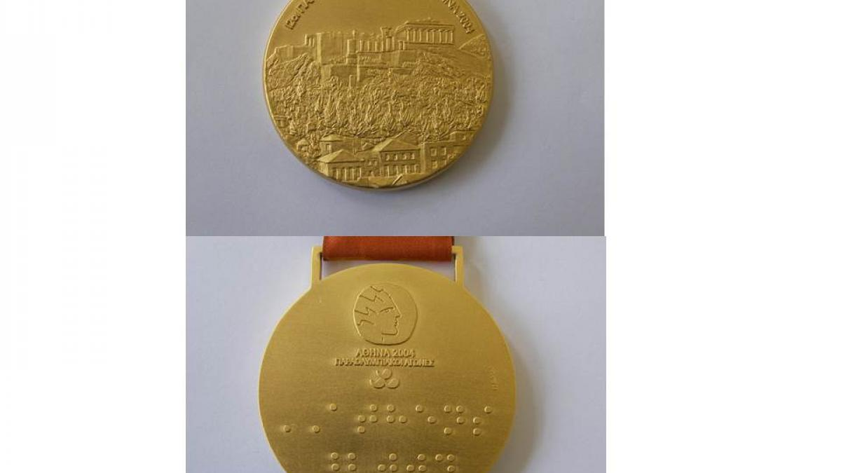 Athens 2004 Paralympic medals