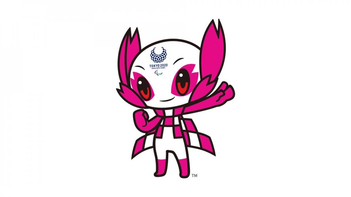 Someity the official mascot of the Tokyo 2020 Paralympic Games