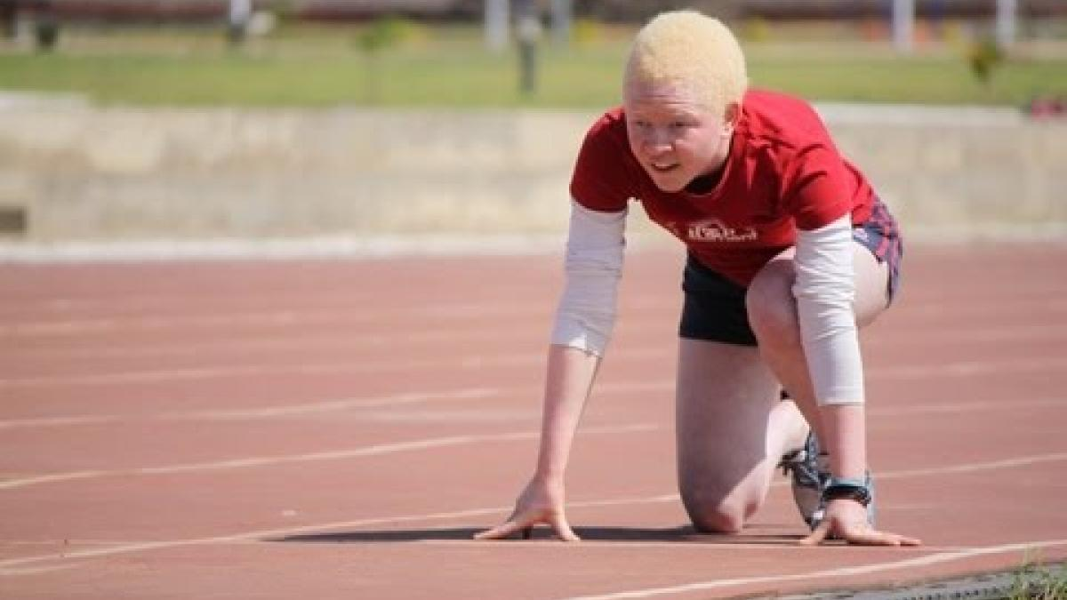 Zambia's Annie Simfukwe on her dreams at the IPC Regional Training Camp in Zambia