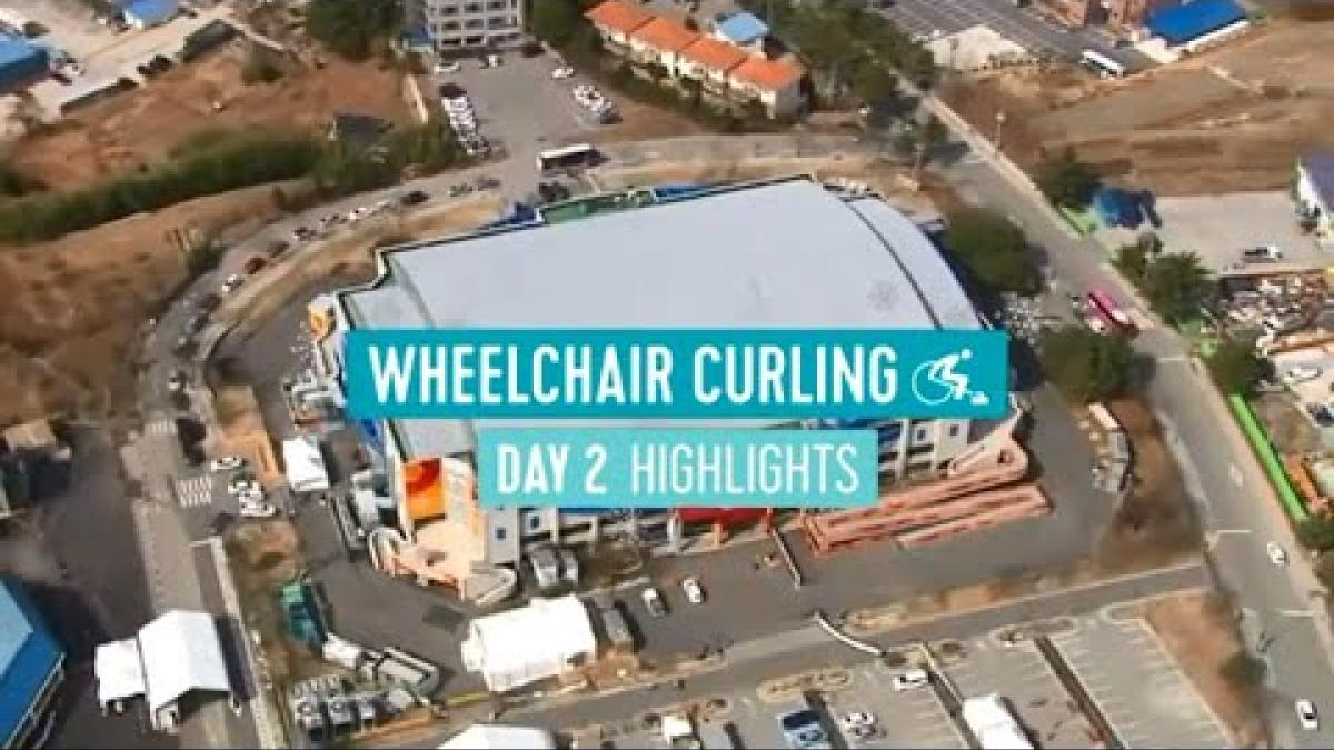 Day 2: Wheelchair curling highlights | PyeongChang 2018 Paralympic Winter Games