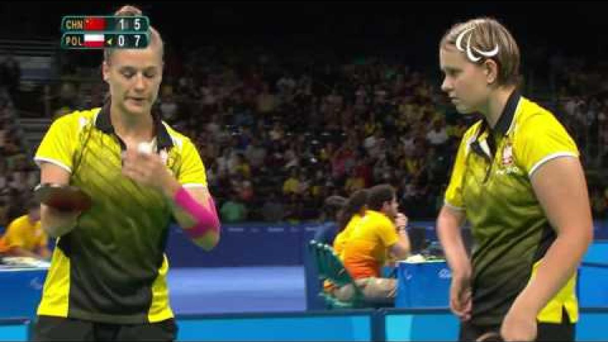 Table Tennis | China v Poland | Women's Team - Cl 6-10 Gold Mdl Match | Rio 2016 Paralympic Games