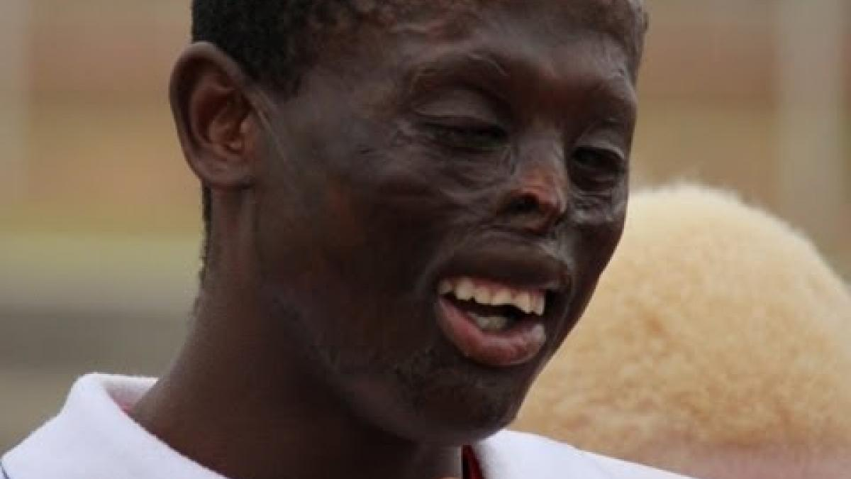 Namibia's Martina Aloisius on his goals for London 2012 Paralympic Games