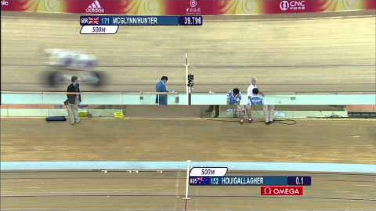 Cycling Women's Individual Pursuit B&VI Gold Medal Race - Beijing 2008 Paralympic Games