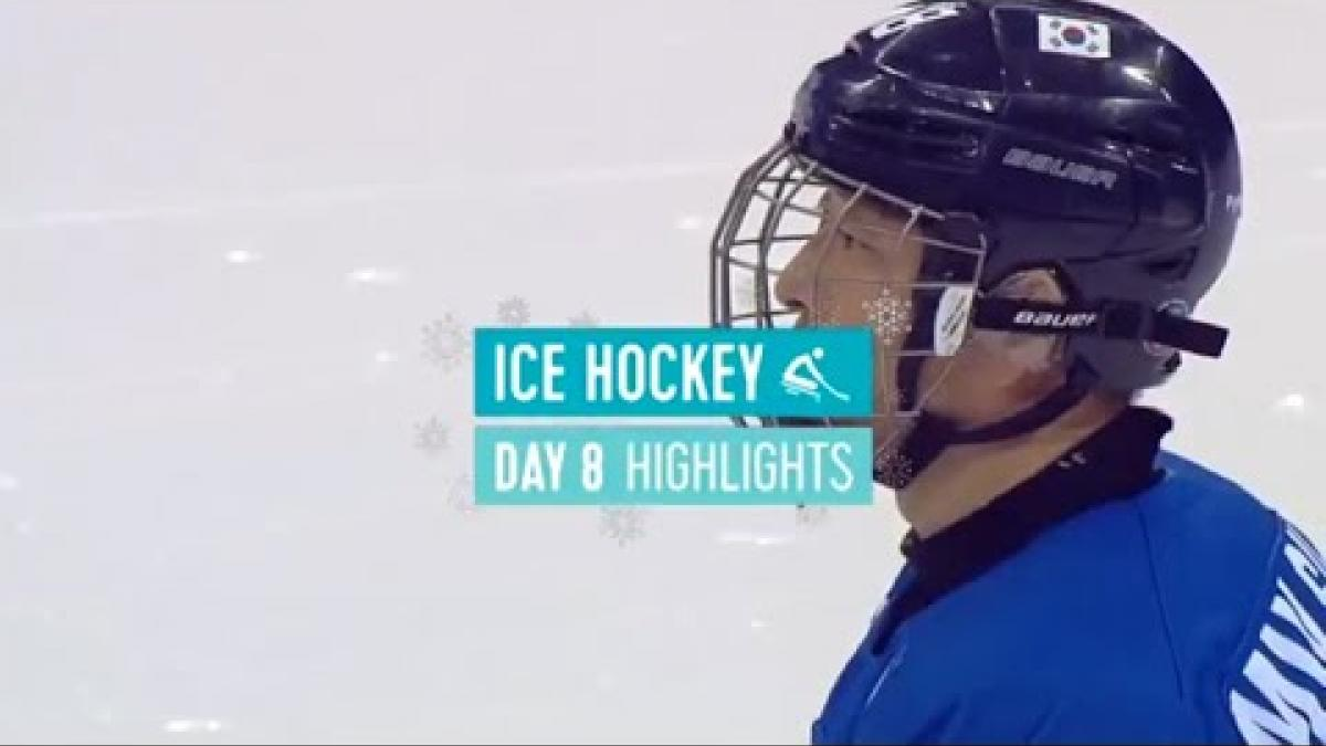 Day Eight Para Ice Hockey Highlights | PyeongChang 2018