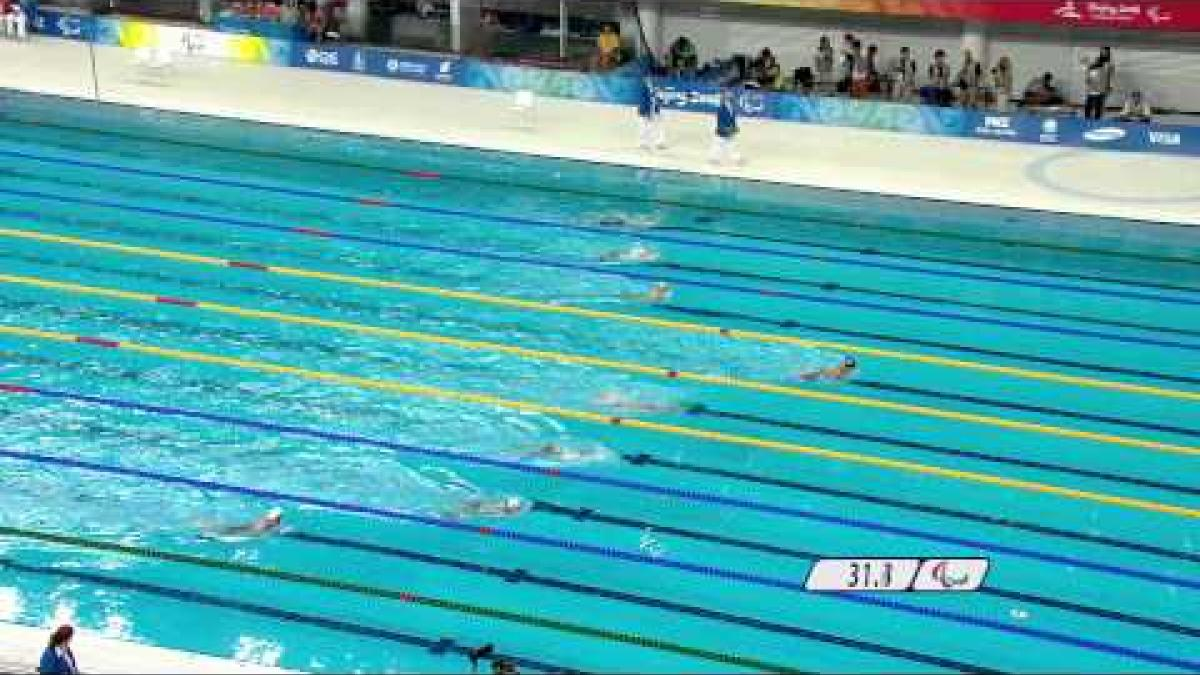 Swimming Women's 100m Breaststroke SB7 - Beijing 2008 Paralympic Games