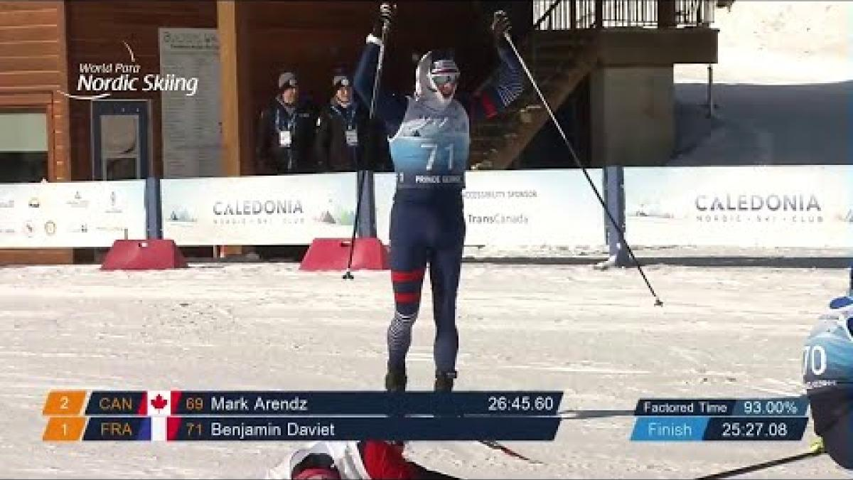 Benjamin Daviet | Middle Distance | World Para Nordic World Championships | Prince George 2019