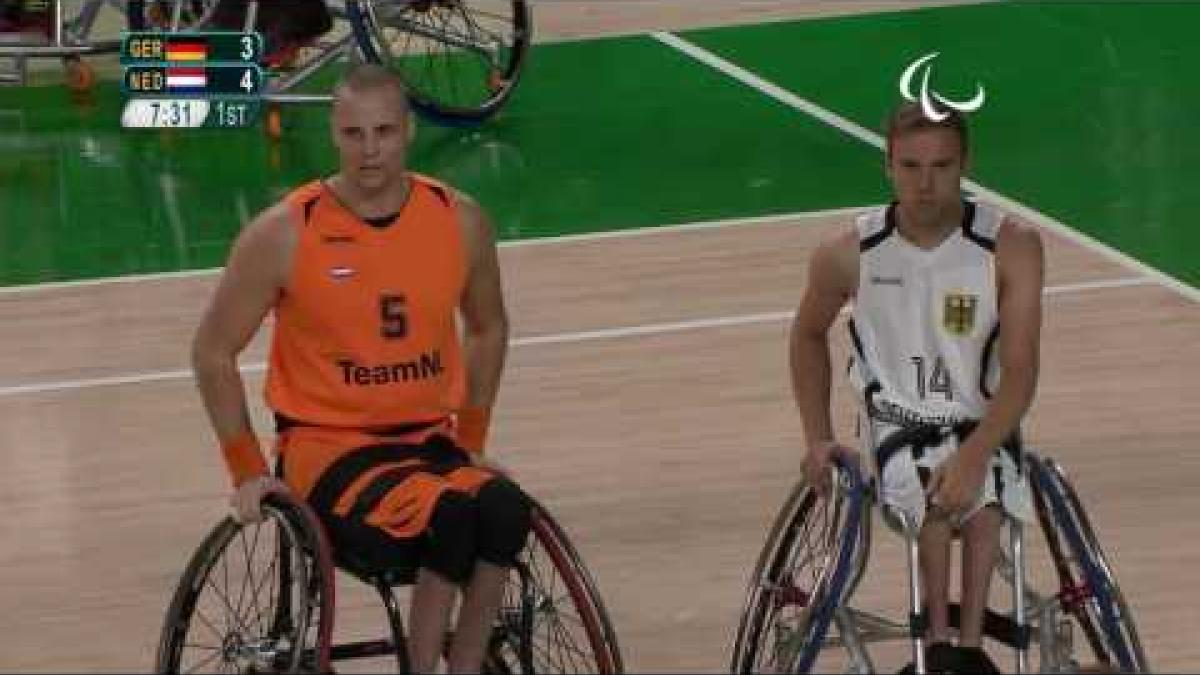Wheelchair Basketball | GER v NED | Men's 7 - 8 place game | Rio 2016 Paralympic Games