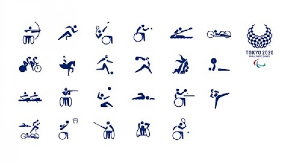 The Paralympic Games Pictograms Evolution