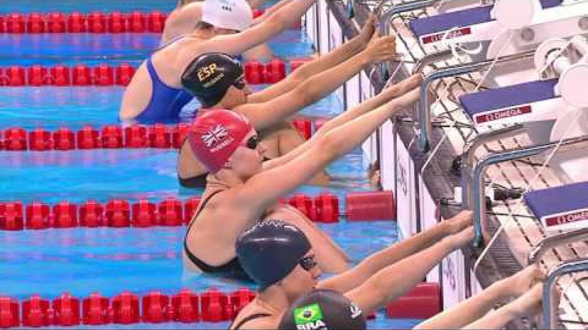 Swimming | Women's 100m Backstroke S12 final | Rio 2016 Paralympic Games