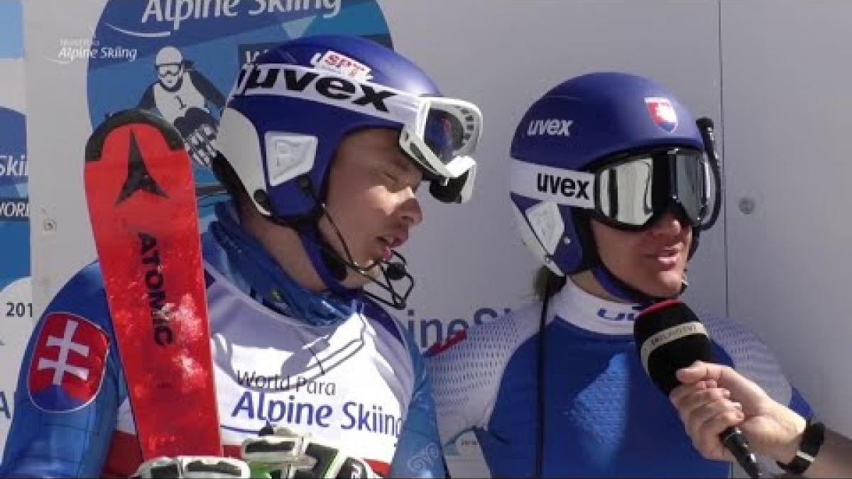 Miroslav Haraus | Slalom Vision Impaired Day 5 | World Para Alpine World Cup | La Molina 2019