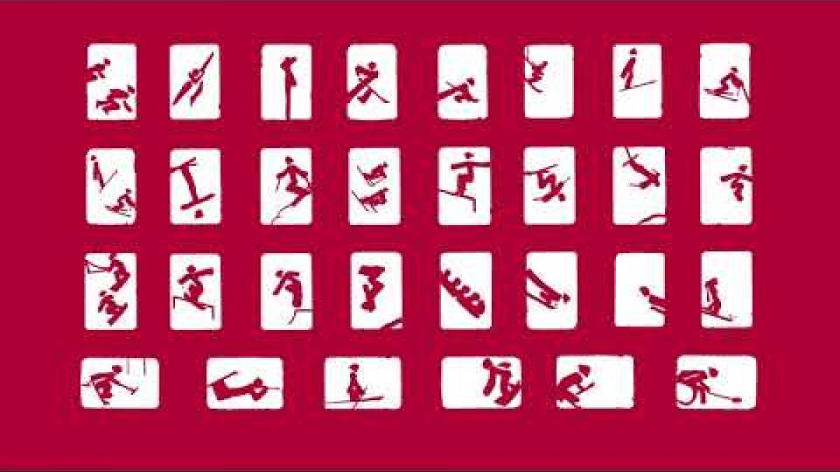 Beijing 2022 pictogram video