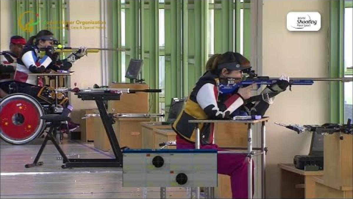 Yan Yaping | Mixed 50m Rifle Prone | World Shooting Para Sport World Cup | Al-Ain 2019