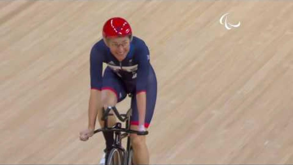 Cycling track | Women's C5 3000m Individual Pursuit Final | Rio 2016 Paralympic Games