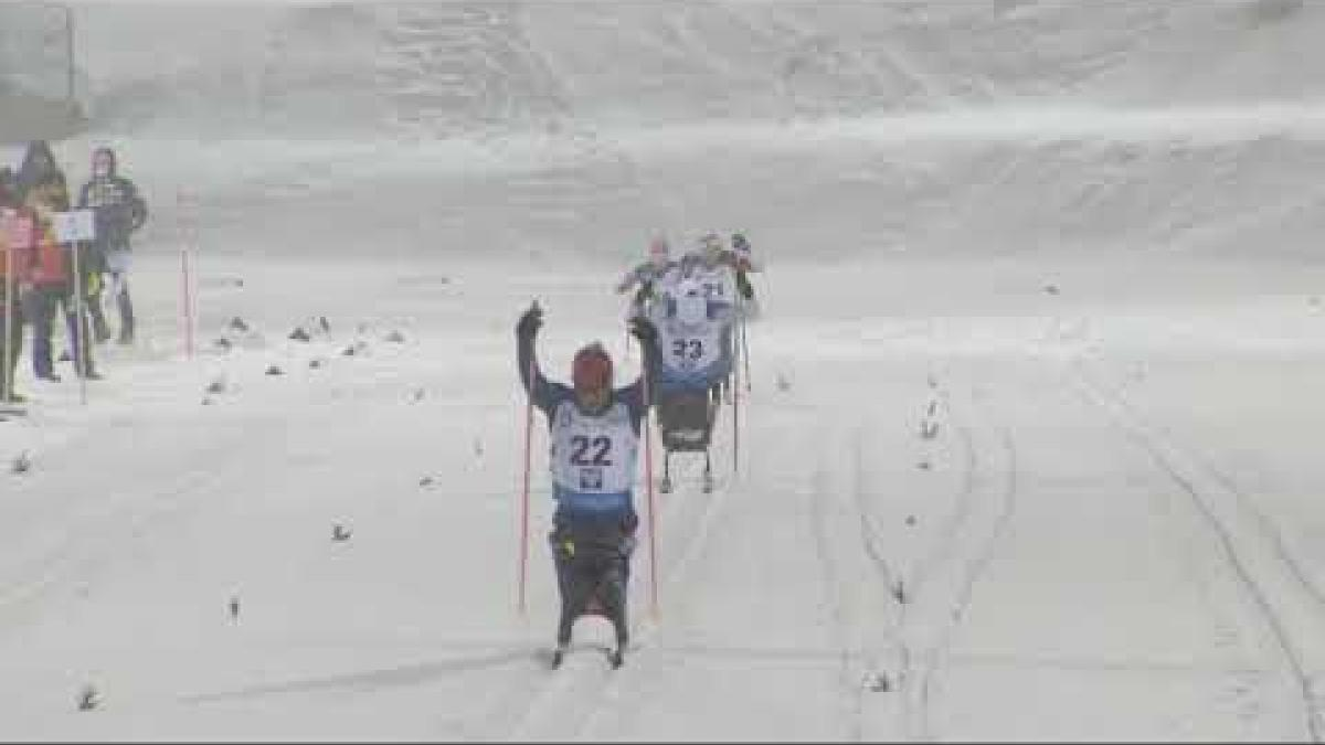 Oksana Masters | USA | Sitting Sprint | World Para Nordic Skiing World Cup | Ostersund 2019