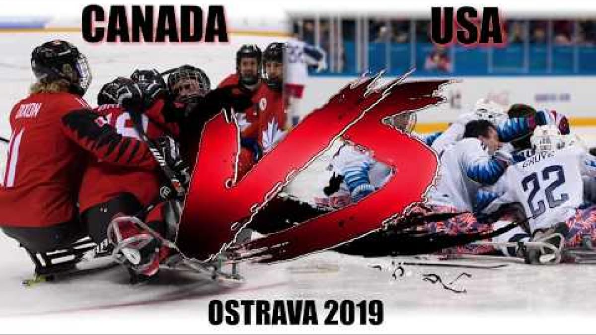 Canada v USA | Para Ice Hockey