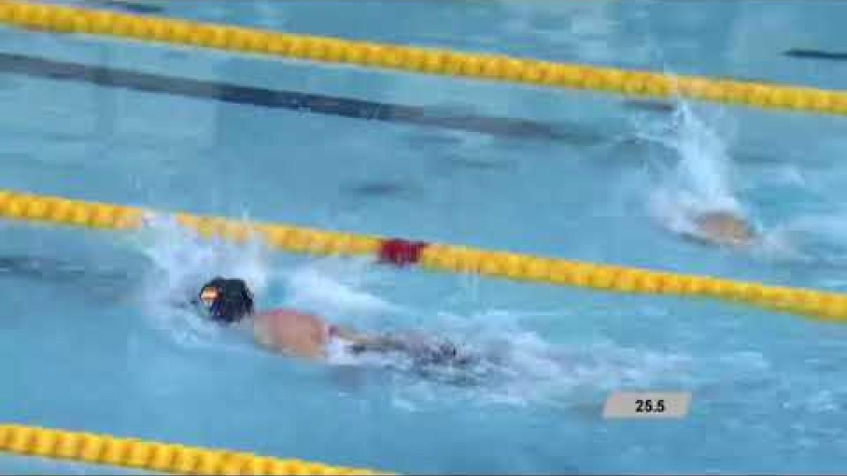 Women's 50 m Freestyle S5| Final | Mexico City 2017 World Para Swimming Championships