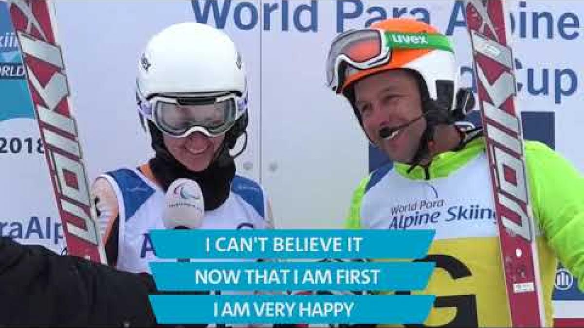 Day 2 Highlights | 2018 World Para Alpine Skiing World Cup Kimberley