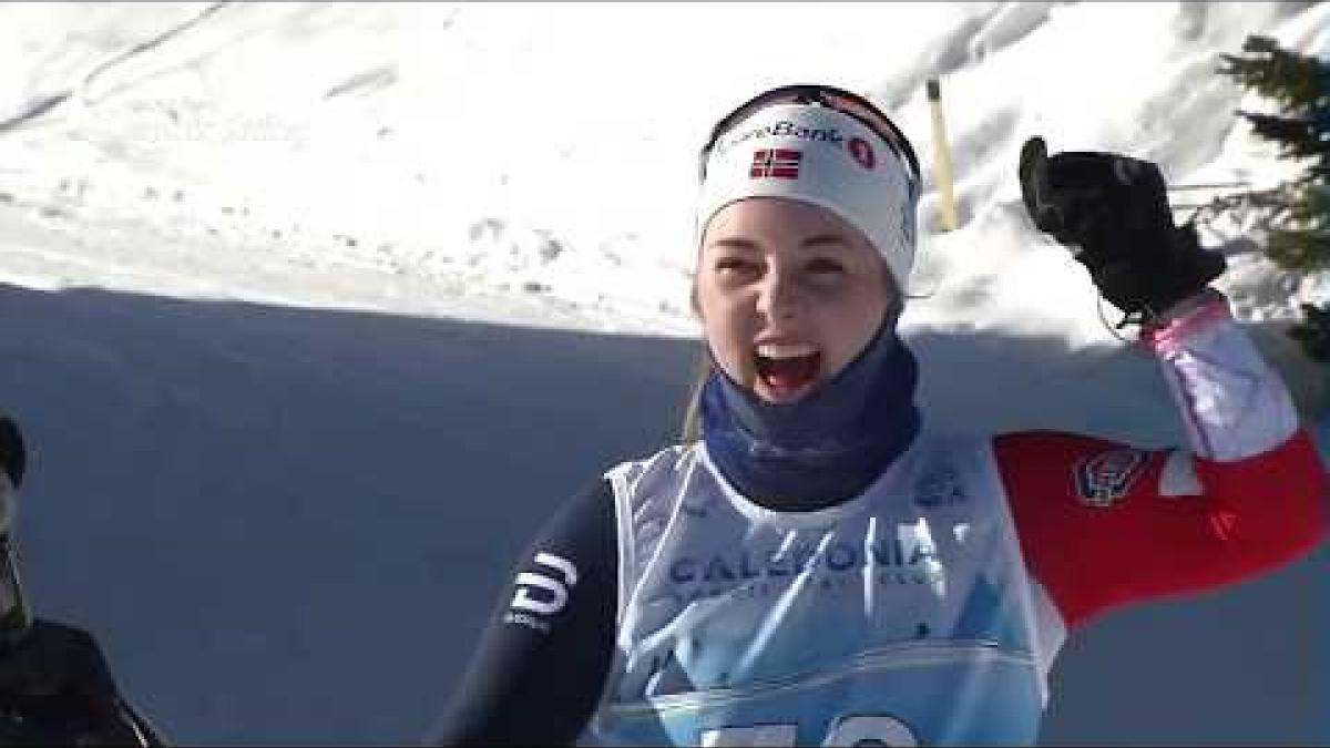 Vilde Nilsen | Long Distance Cross Country | World Para Nordic World Champs | Prince George 2019