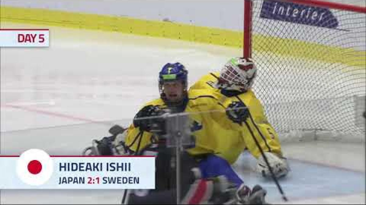 JPN v SWE (7th/8th) place Highlights | Ostrava 2019