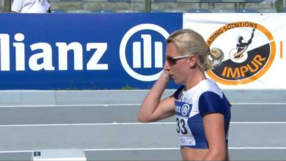 Women's 200 m T37 | final | 2016 IPC Athletics European Championships Grosseto