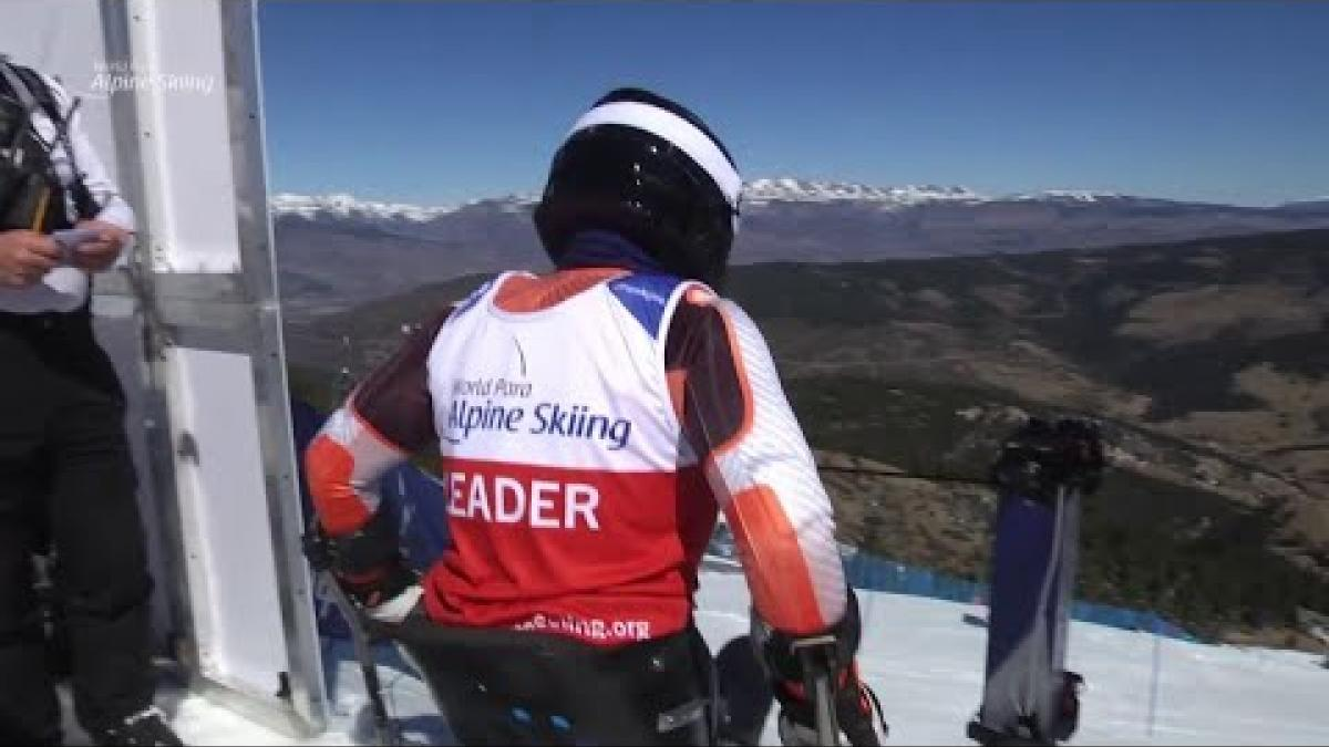 Anna-Lena Forster | Slalom Sitting Day 5 | World Para Alpine World Cup | La Molina 2019