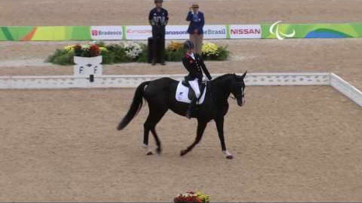Day 9 evening | Equestrian highlights | Rio 2016 Paralympic Games