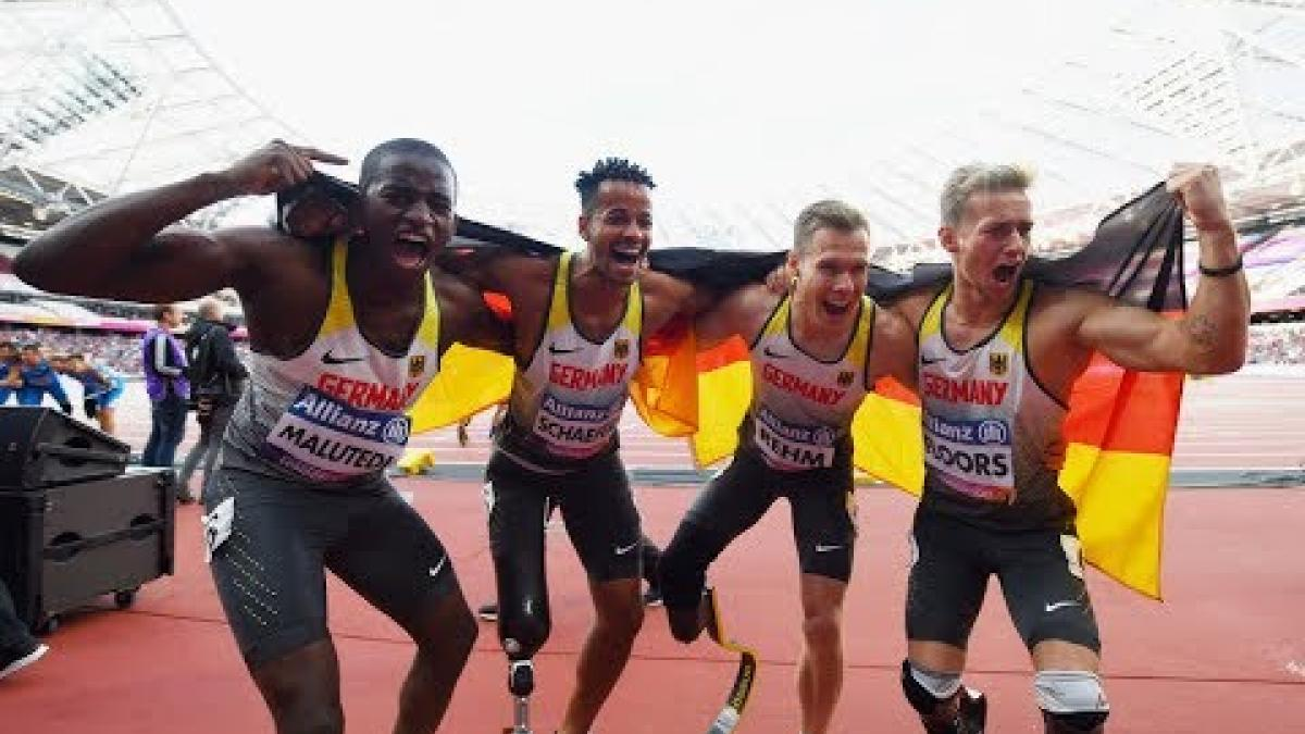 Men's 4x100m T42-47 | Final | London 2017 World Para Athletics Championships