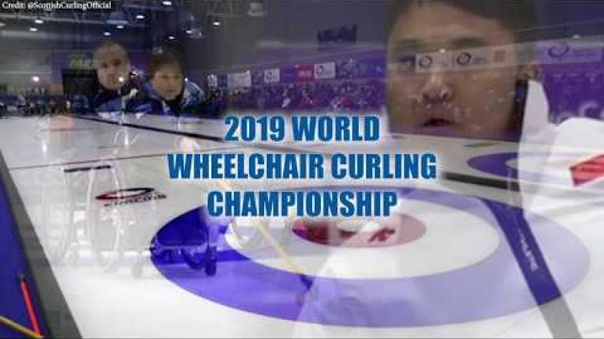 Scotland v China | Highlights | 2019 World Wheelchair Curling Championships