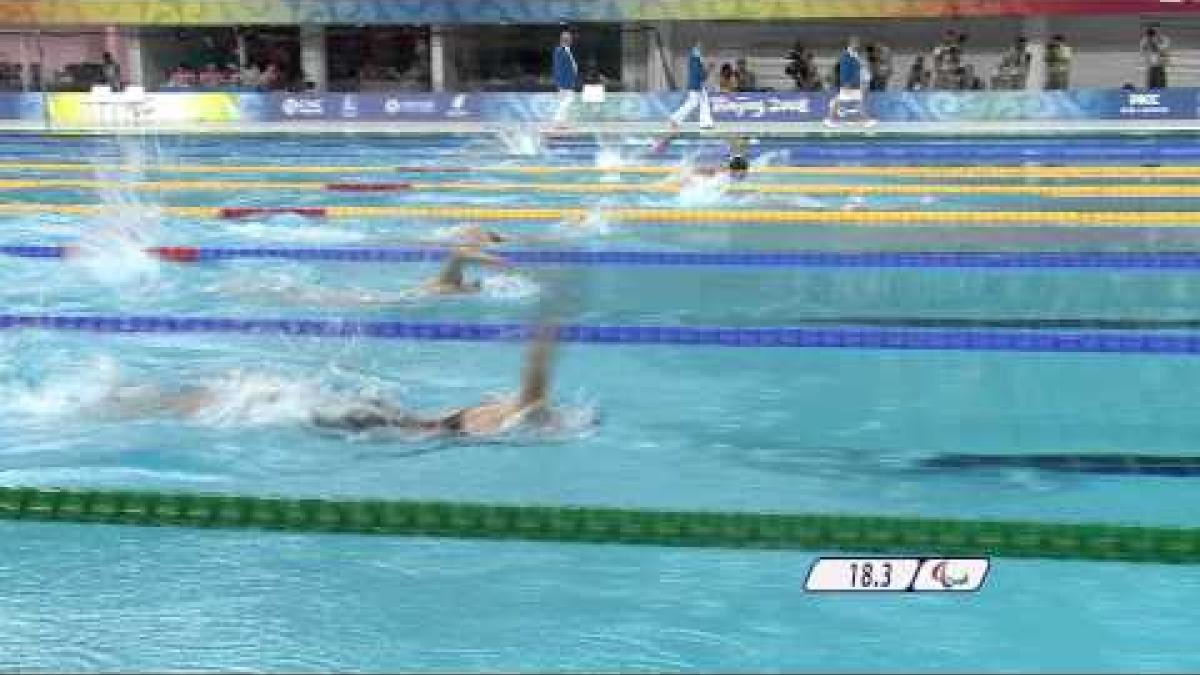 Swimming Women's 100m Butterfly S8 - Beijing 2008 Paralympic Games